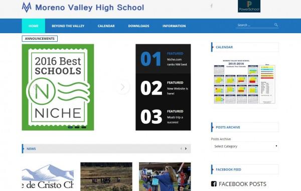 Moreno Valley High School